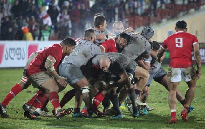 Georgia and Tonga are both set to miss out. Photo: Facebook/Georgian Rugby